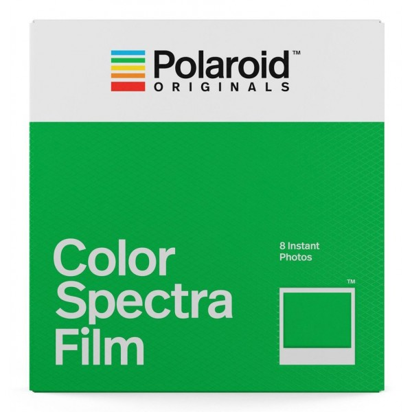 Polaroid Originals - Pellicole Colorate per Spectra - Frame Bianco Classico - Film per Polaroid Spectra Camera