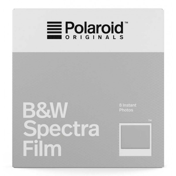Polaroid Originals - B&W Film for Spectra - Classic White Frame - Film for Polaroid Originals Spectra Cameras