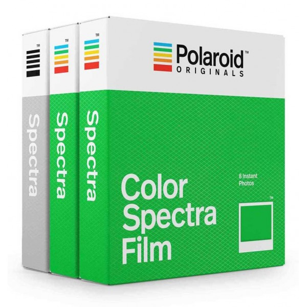 Polaroid Originals - Triple Pack Color Film for Spectra - Classic White Frame - Film for Polaroid Originals Spectra Cameras