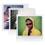 Polaroid Originals - Pacco Triplo Pellicole Colorate per Spectra - Frame Bianco Classico - Film per Polaroid Spectra Camera