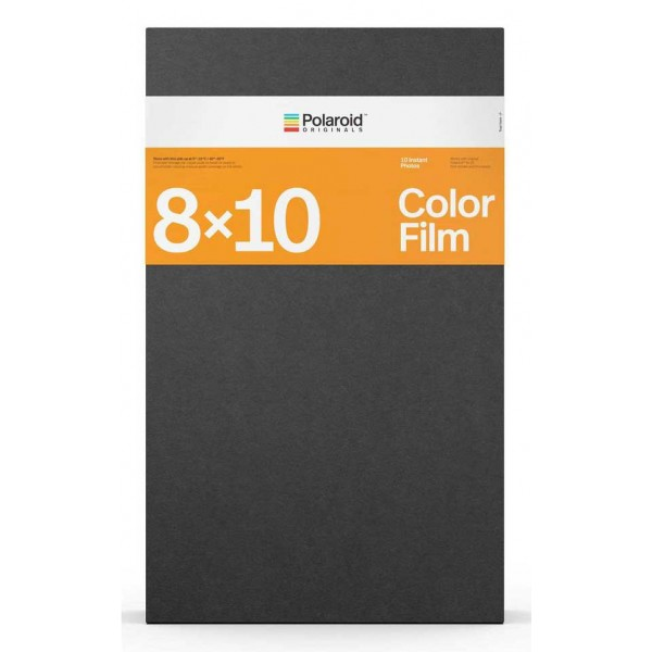 Polaroid Originals - Color Film for 8x10 - Black Frame - Film for Polaroid Originals 8x10 Cameras