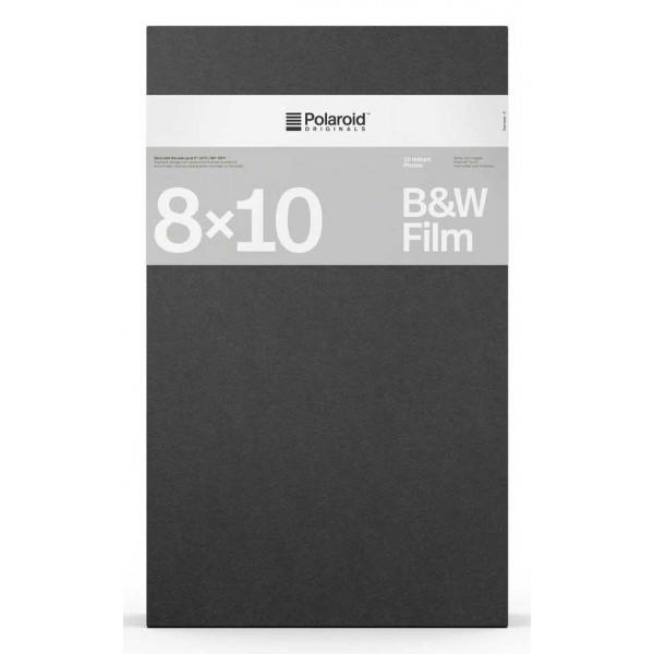 Polaroid Originals - B&W Film for 8x10 - Black Frame - Film for Polaroid Originals 8x10 Cameras