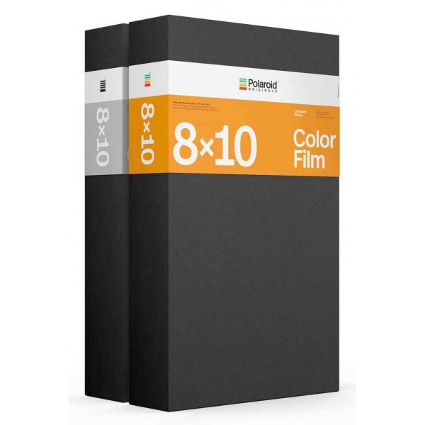 Polaroid Originals - Double Pack Core Color Film for 8x10 - Black Frame - Film for Polaroid Originals 8x10 Cameras