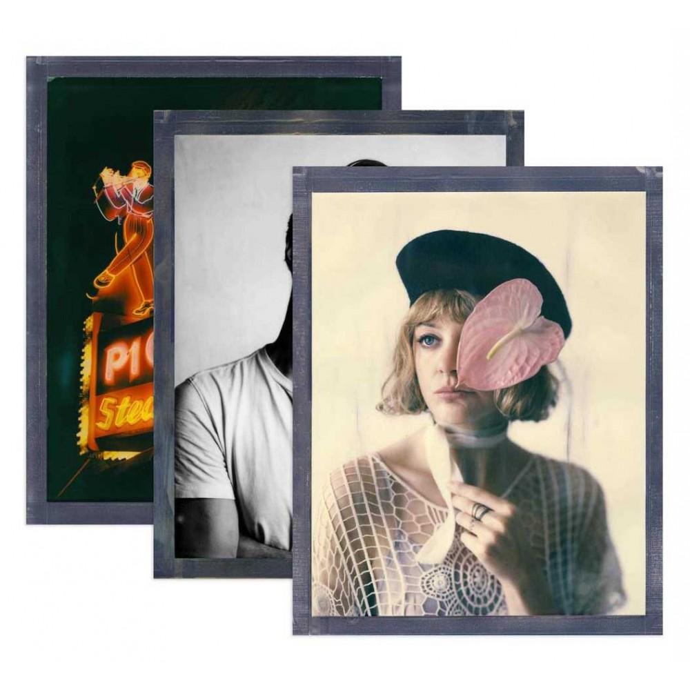 Polaroid Originals - Triple Pack Core Color Film for 8x10 - Black