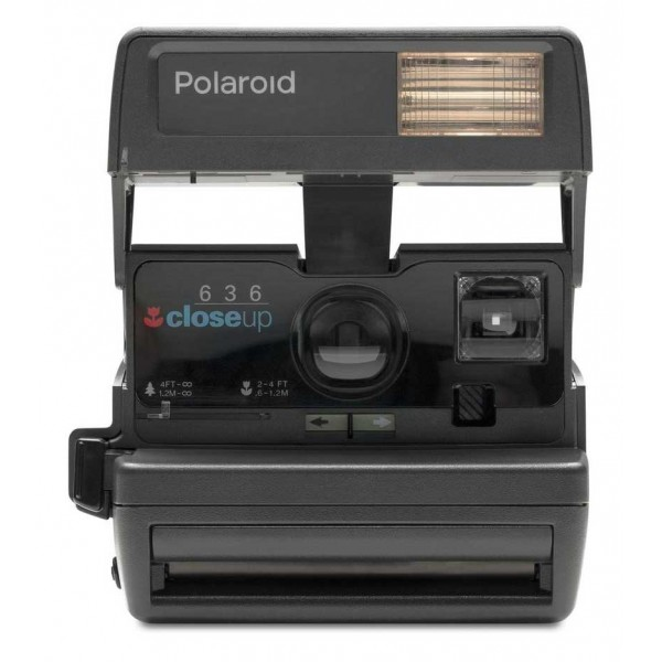 Polaroid Originals - Fotocamera Polaroid 600 - One Step Close Up - Nera - Fotocamera Vintage - Fotocamera Polaroid Originals