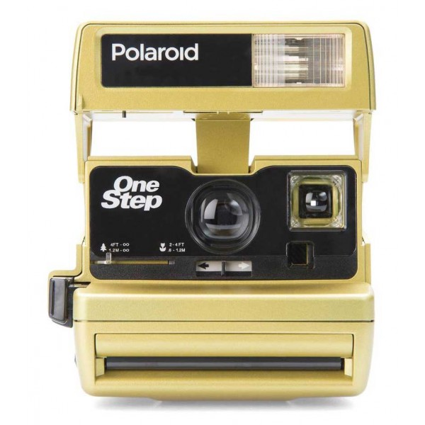 Polaroid Originals - Fotocamera Polaroid 600 - One Step Close Up - Oro - Fotocamera Vintage - Fotocamera Polaroid Originals