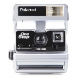 Polaroid Originals - Fotocamera Polaroid 600 - One Step Close Up - Argento - Fotocamera Vintage - Fotocamera Polaroid Originals