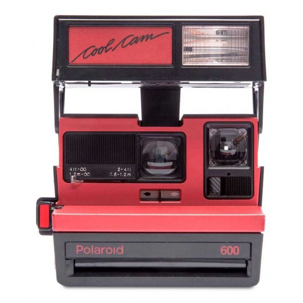 Polaroid Originals - Polaroid 600 Camera - Cool Cam - Red - Vintage Cameras - Polaroid Originals Camera