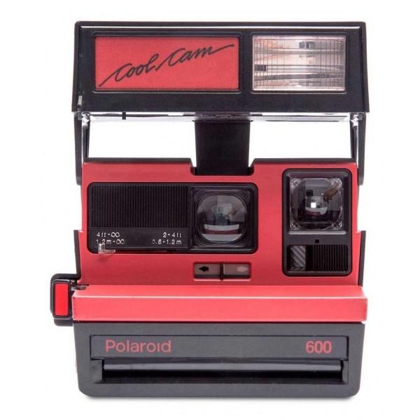 Polaroid Originals - Polaroid 600 Camera - Cool Cam - Red - Vintage Cameras - Polaroid Originals Camera