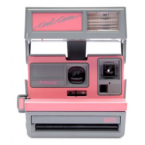 Polaroid Originals - Polaroid 600 Camera - Cool Cam - Pink & Grey - Vintage Cameras - Polaroid Originals Camera