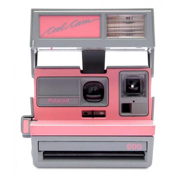 Polaroid Originals - Polaroid 600 Camera - Cool Cam - Pink & Grey - Vintage Cameras - Polaroid Originals Camera