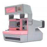 Polaroid Originals - Fotocamera Polaroid 600 - Cool Cam - Rosa e Grigia - Fotocamera Vintage - Fotocamera Polaroid Originals