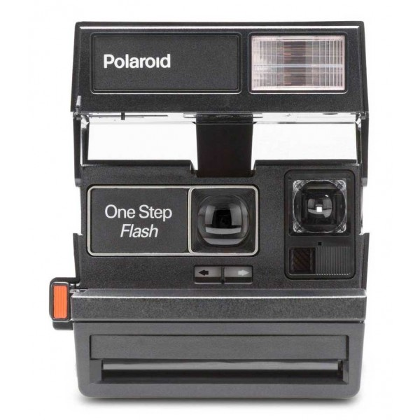 Polaroid Originals - Polaroid 600 Camera - Square - Black - Vintage Cameras - Polaroid Originals Camera