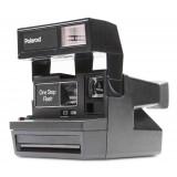 Polaroid Originals - Fotocamera Polaroid 600 - Square - Nera - Fotocamera Vintage - Fotocamera Polaroid Originals