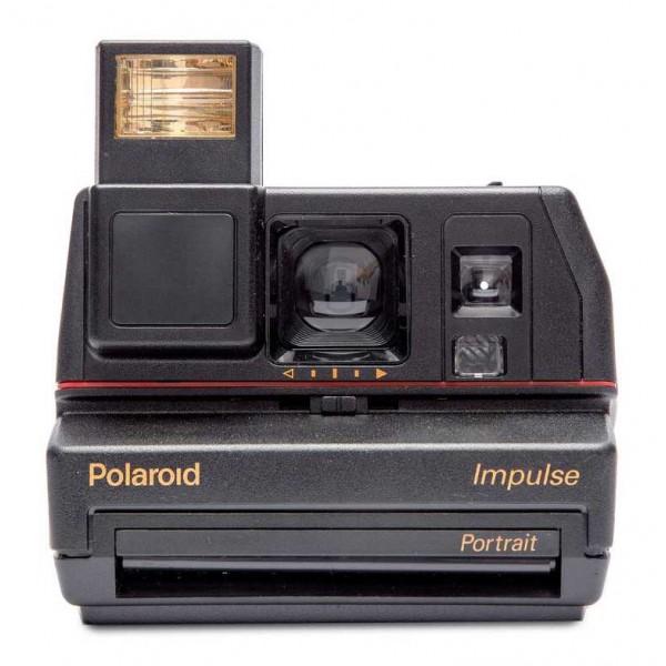 Polaroid Originals - Polaroid 600 Camera - Impulse - Black - Vintage Cameras - Polaroid Originals Camera