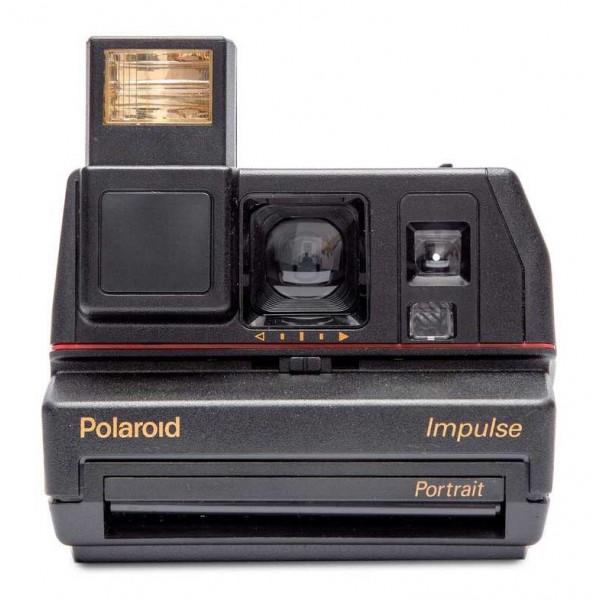 Polaroid Originals - Fotocamera Polaroid 600 - Impulse - Nera - Fotocamera Vintage - Fotocamera Polaroid Originals