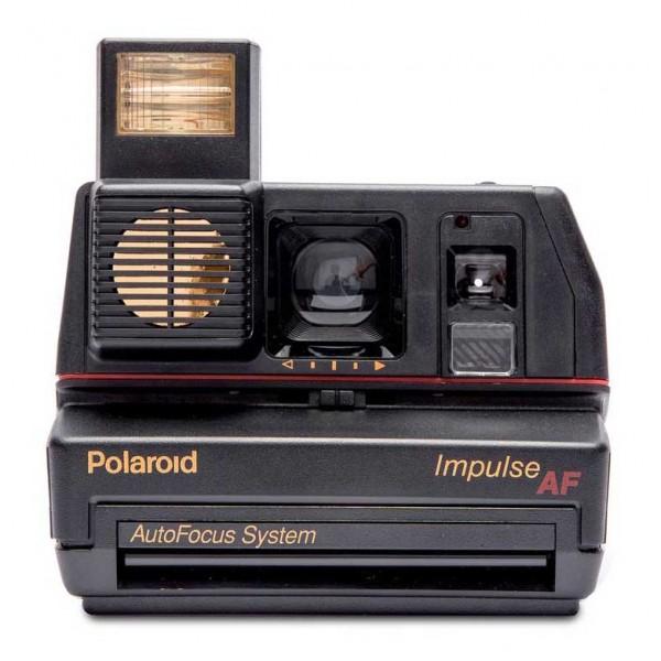 Polaroid Originals - Polaroid 600 Camera - Impulse Autofocus - Black - Vintage Cameras - Polaroid Originals Camera