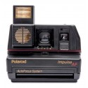 Polaroid Originals - Fotocamera Polaroid 600 - Impulse Autofocus - Nera - Fotocamera Vintage - Fotocamera Polaroid Originals