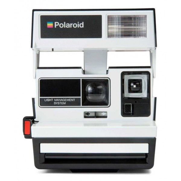 Polaroid Originals - Polaroid 600 Camera - Two Tone - Penguin- Vintage Cameras - Polaroid Originals Camera
