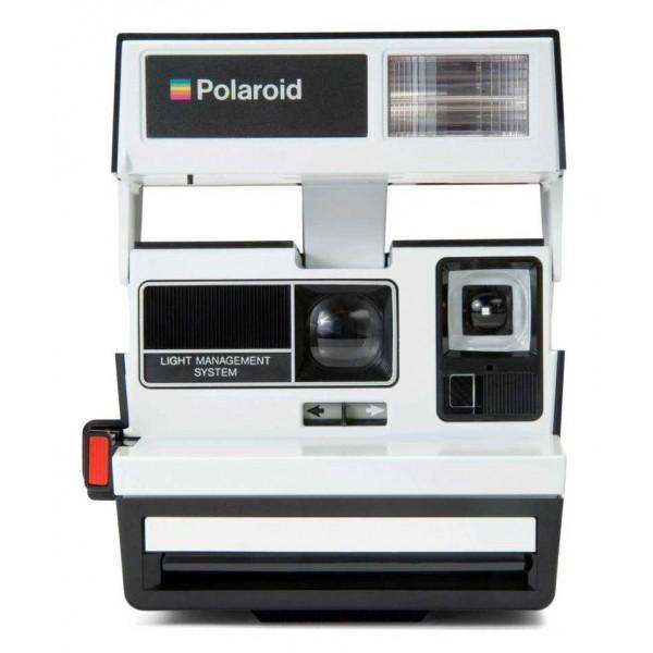 Polaroid Originals - Polaroid 600 Camera - Two Tone - Penguin- Vintage Cameras - Polaroid Originals Camera