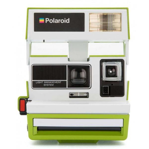Polaroid Originals - Fotocamera Polaroid 600 - Two Tone - Parakeet - Fotocamera Vintage - Fotocamera Polaroid Originals