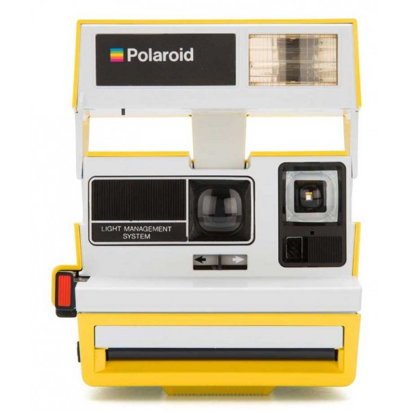 Polaroid Originals - Fotocamera Polaroid 600 - Two Tone - Canary - Fotocamera Vintage - Fotocamera Polaroid Originals