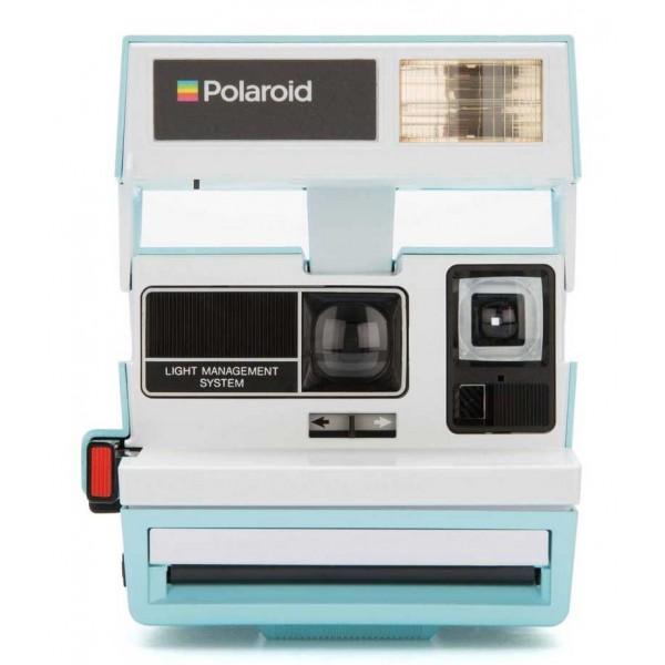 Polaroid Originals - Fotocamera Polaroid 600 - Two Tone - Blue Jay - Fotocamera Vintage - Fotocamera Polaroid Originals