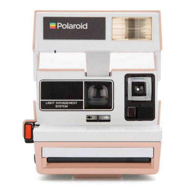 Polaroid Originals - Fotocamera Polaroid 600 - Two Tone - Flamingo - Fotocamera Vintage - Fotocamera Polaroid Originals