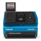 Polaroid Originals - Fotocamera Polaroid 600 - Impulse - Blu - Fotocamera Vintage - Fotocamera Polaroid Originals