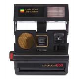 Polaroid Originals - Fotocamera Polaroid 600 - Sun 660 Autofocus - Nera - Fotocamera Vintage - Fotocamera Polaroid Originals
