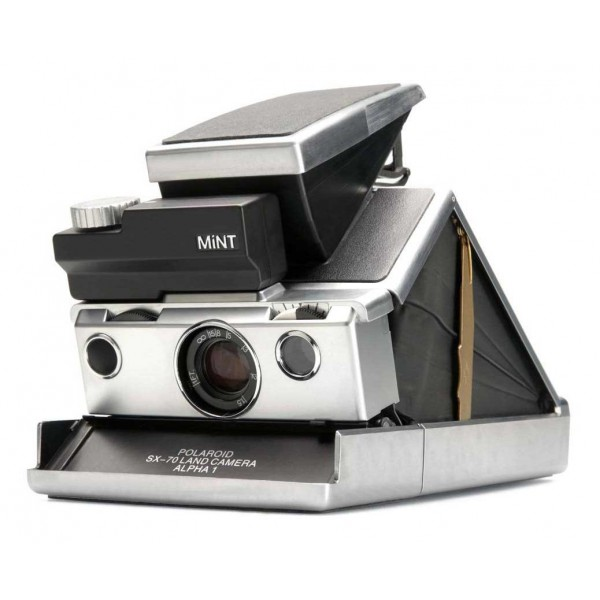 Polaroid Originals - Fotocamera Polaroid 600 - MiNT SLR 670-S - Nera - Fotocamera Vintage - Fotocamera Polaroid Originals