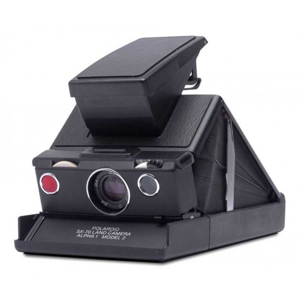Polaroid Originals - Fotocamera Polaroid SX-70 - Nera Nera - Fotocamera Vintage - Fotocamera Polaroid Originals