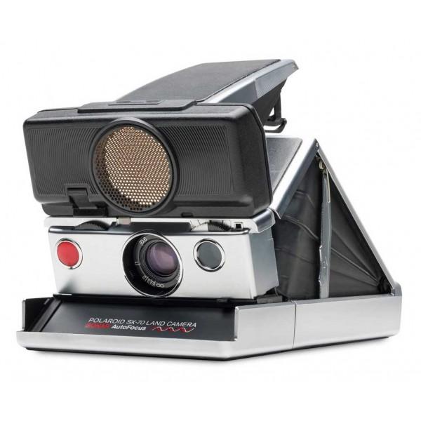 Polaroid Originals - Fotocamera Polaroid SX-70 Autofocus - Argento Nero - Fotocamera Vintage - Fotocamera Polaroid Originals