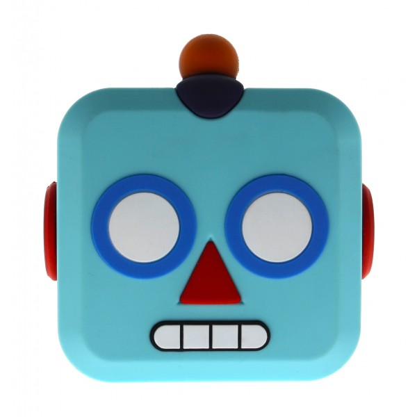 Moji Power - Robot - High Capacity Portable Power Bank Emoji Icon USB Charger - Portable Batteries - 5200 mAh
