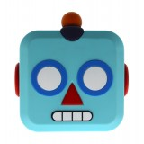Moji Power - Robot - Carica Batteria Portatile Alta Capacità Emoji USB - Batterie Portatili - 5200 mAh