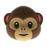 Moji Power - Monkey - High Capacity Portable Power Bank Emoji Icon USB Charger - Portable Batteries - 5200 mAh