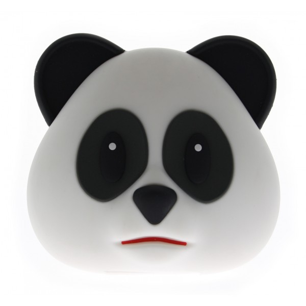 Moji Power - Panda - High Capacity Portable Power Bank Emoji Icon USB Charger - Portable Batteries - 5200 mAh