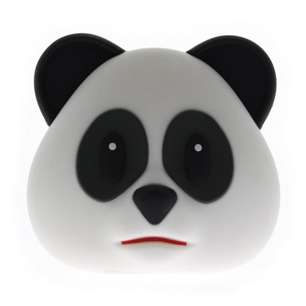 Moji Power - Panda - Carica Batteria Portatile Alta Capacità Emoji USB - Batterie Portatili - 5200 mAh