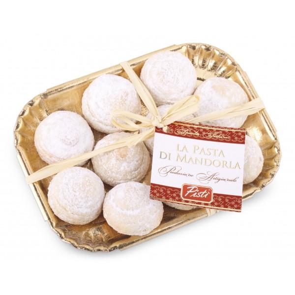 Pistì - Paste di Mandorla Sicilia Classiche - Fine Pasticceria in Vassoio Elegance