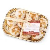 Pistì - Paste di Mandorla Sicilia al Mandarino - Fine Pasticceria in Vassoio Elegance