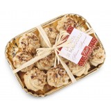 Pistì - Paste di Mandorla Sicilia alla Nocciola - Fine Pasticceria in Vassoio Elegance