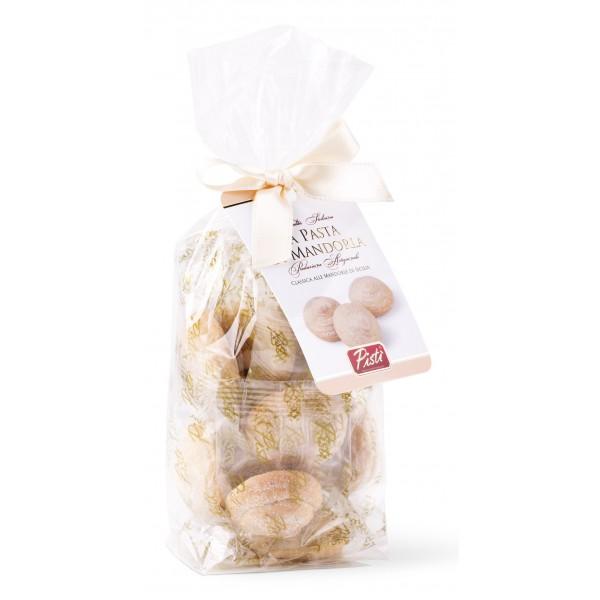 Pistì - Paste di Mandorla Sicilia Classiche - Fine Pasticceria in Busta con Fiocco