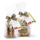 Pistì - Pieces of Crunchy with Sicilian Pistachio - Fine Pastry in Envelope with Bow - 100 g