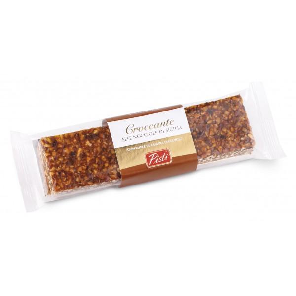 Pistì - Tocchetti di Croccante alla Nocciola di Sicilia - Fine Pasticceria in Flow Pack