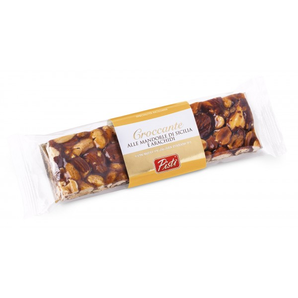Pistì - Pieces of Crunchy with Sicilian Almond and Peanuts - Fine Pastry in Flow Pack