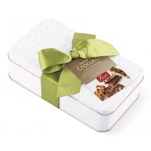 Pistì - Tocchetti di Croccante Assortiti - Fine Pasticceria in Confezione Blanca