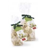Pistì - Tocchetti di Torrone Morbido al Pistacchio di Sicilia - Fine Pasticceria in Busta con Fiocco - 100 g