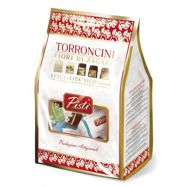 Pistì - Torroncini Morbidi Assortiti Fiore di Zagara - Fine Pasticceria in Flow Pack