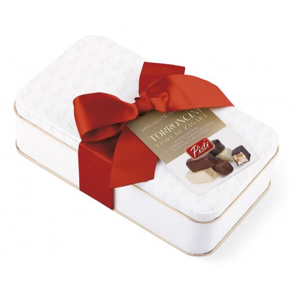 Pistì - Soft Nougat Assorted Zagara Flower - Fine Pastry in Gift Box Blanca