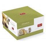 Pistì - Panettone Artigianale Pandorato Ricoperto di Cioccolato Bianco e Crema Pistacchio - Gift Box